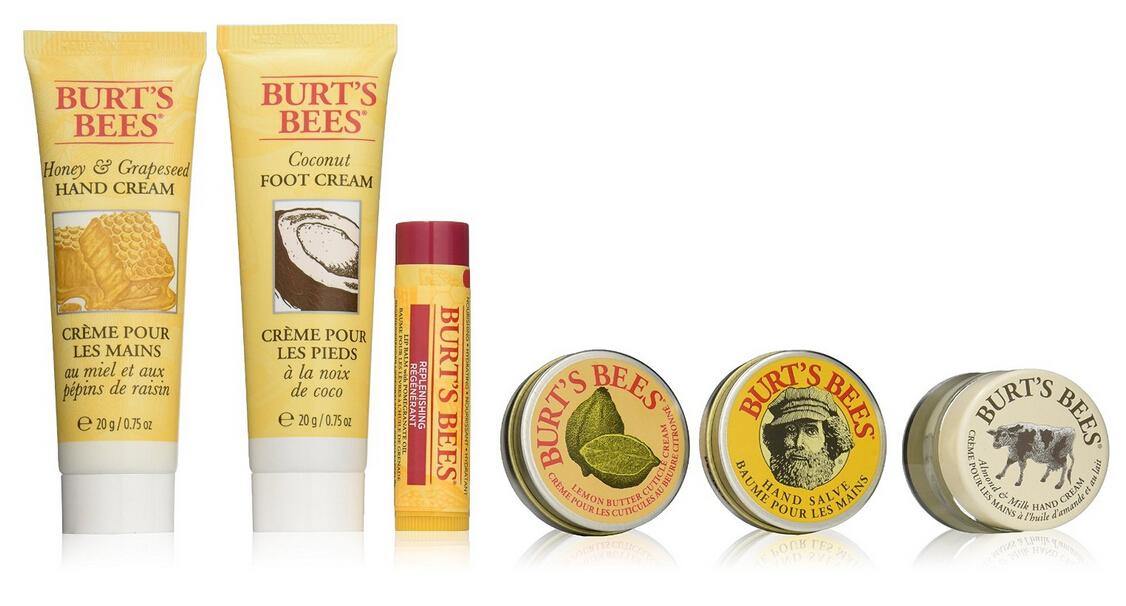 再降新低!Burt's Bees 小蜜蜂从头到脚全身护肤精华6件套