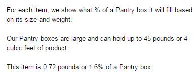 Prime Pantry Box 攻略