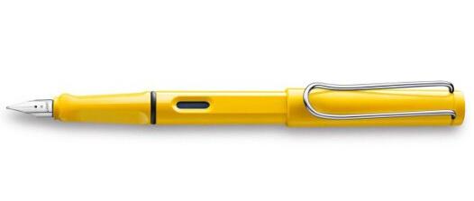 历史新低,手快!LAMY Safari 凌美狩猎系列钢笔F笔尖黄色款