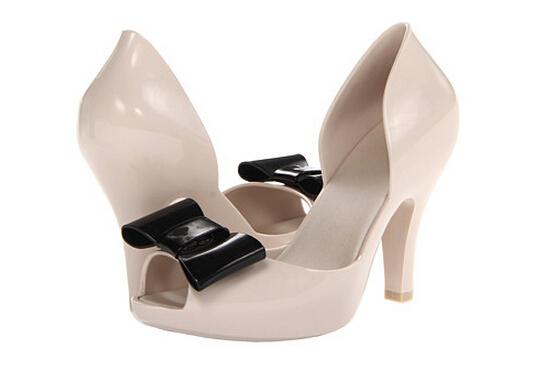6PM好价!melissa Mel Chantilly 女士高跟鞋