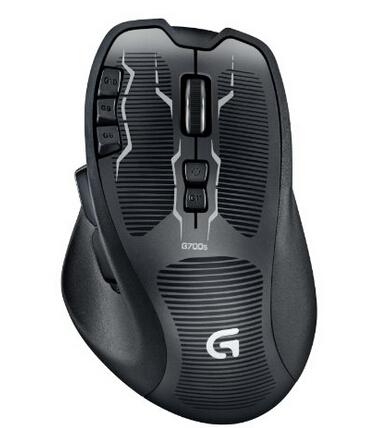 新补货!再次新低,可直邮!Logitech 罗技 G700s Rechargeable 可充电 无线游戏鼠标
