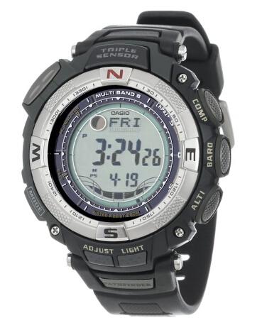 美亚好价!卡西欧 Casio PAW1500 电波太阳能户外手表