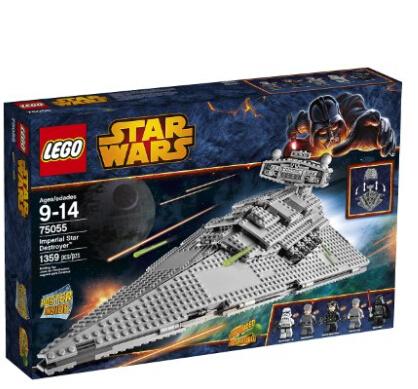 美亚好价再来!LEGO 乐高 75055 星战系列之帝国歼星舰