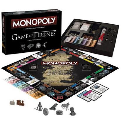 历史新低!Game of Thrones 权利的游戏大富翁游戏板