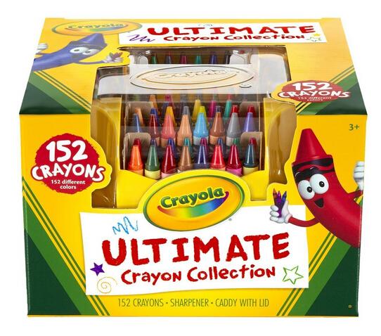 时隔半年再新低!金盒特价!Crayola 绘儿乐 152色彩色蜡笔