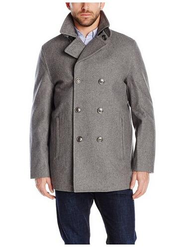 历史新低!London Fog 伦敦雾 男士双排扣大衣