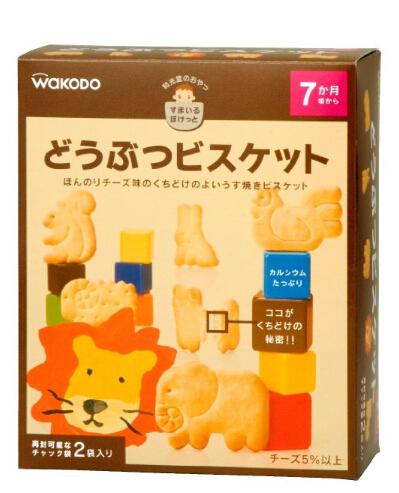10款值得日淘的Wakodo和光堂婴幼儿饼干及辅食