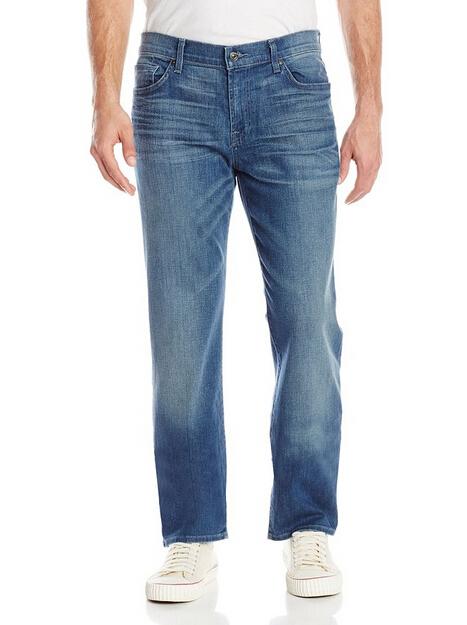 31码新低价,手快有!7 For All Mankind 男士直筒牛仔裤