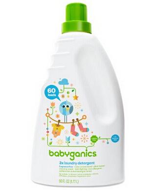 再刷新低,囤货价!Babyganics 甘尼克宝贝三倍浓缩婴儿洗衣液 1.77L