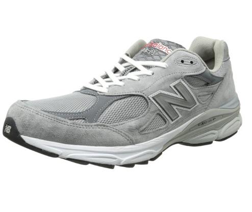8折码好价!New Balance 990V3 顶级旗舰版总统慢跑鞋