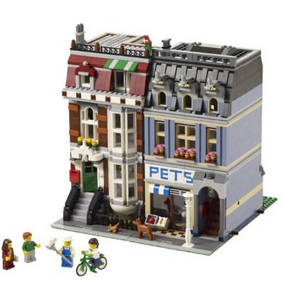 土豪手快有!LEGO 10218 乐高街景系列之宠物商店