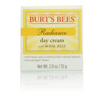 限Prime会员历史新低!皮肤可以吃保养品!Burt's Bees 小蜜蜂蜂王浆活肤保湿日霜 55g