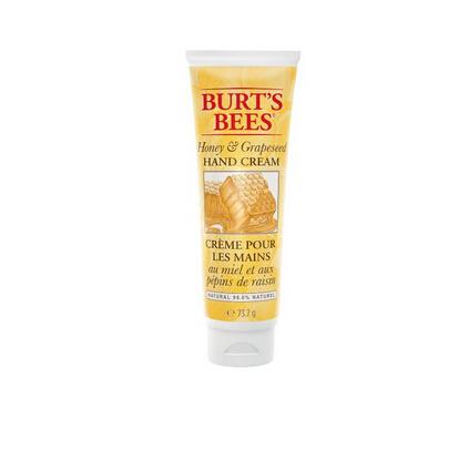 美亚凑单好价!Burt's Bees 小蜜蜂 蜂蜜葡萄籽油护手霜74g