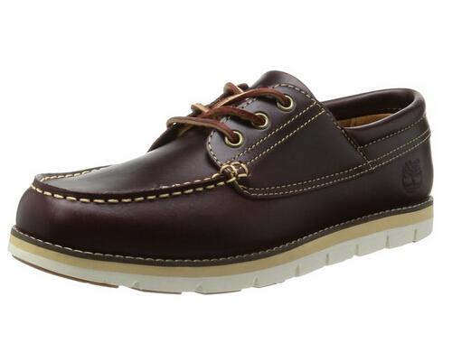 历史新低!Timberland Harborside 3-Eye 天木兰男士休闲皮鞋