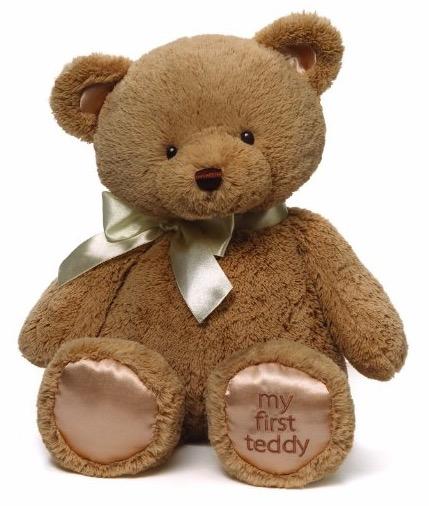 18寸也是新低!My First Teddy 软萌毛绒泰迪熊 18英寸版
