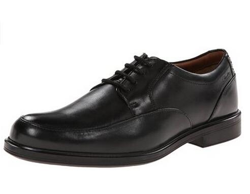 美亚叠加8折码好价!Clarks Gabson Apron 男款商务皮鞋