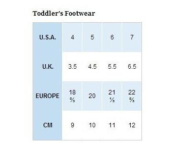 海淘鞋子尺码攻略,适合美亚、6pm、日亚等网站
