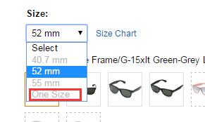美亚one-size是什么意思?