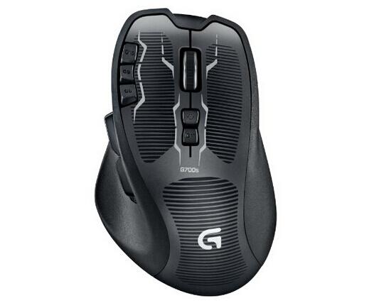 直降新低!囤货!Logitech 罗技 G700s Rechargeable 无线游戏鼠标