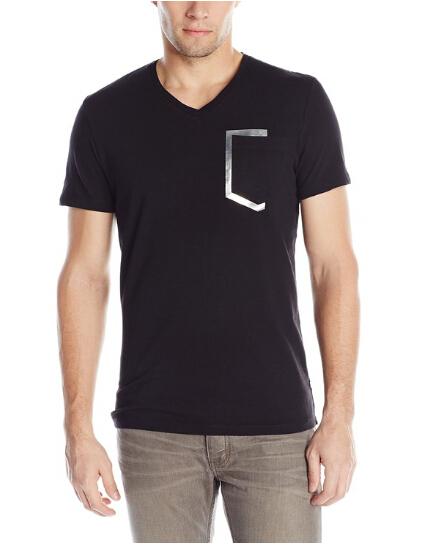 美亚好价!Calvin Klein Short-Sleeve 男款V领休闲T恤