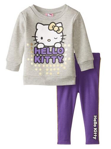 美亚直邮好价!Hello Kitty 凯蒂猫 小童两件套