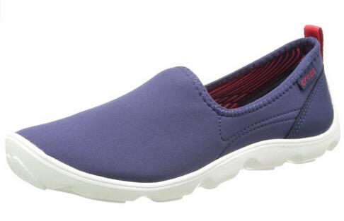新低可直邮!Crocs 卡洛驰女士平底休闲鞋