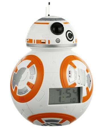 直邮新低!Star Wars星球大战 The Force Awakens 原力觉醒BB-8机器人闹钟