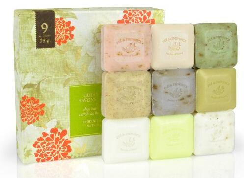 小样9件套!直邮新低!Pre De Provence 普润普斯传统手工皂9块装