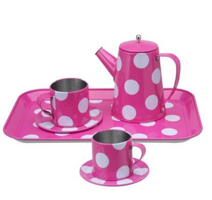 美亚好价!ALEX Toys粉色茶具套装玩具