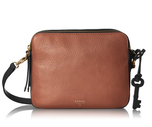 美亚好价!Fossil Sydney Cross-Body 女士真皮斜挎包
