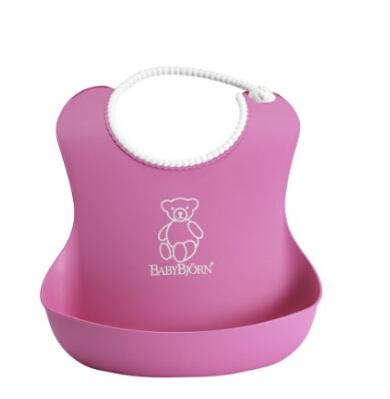 日亚餐饮围兜围裙类销量第一!婴儿防水软胶围兜046255 多色可选