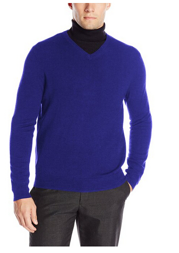 历史新低!Calvin Klein男士V领美利奴羊毛衫