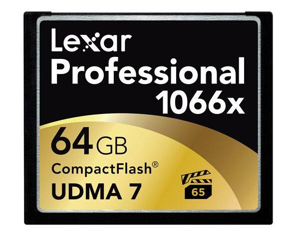 金盒特价!Lexar 1066X 64GB 雷克沙高速CF卡