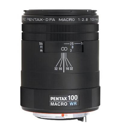 海淘单反镜头推荐!PENTAX 宾得 100mm F2.8 WR 微距定焦镜头