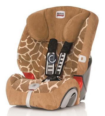 德国直邮!甜馨同款!Britax 百代适2016款超级百变王儿童安全座椅