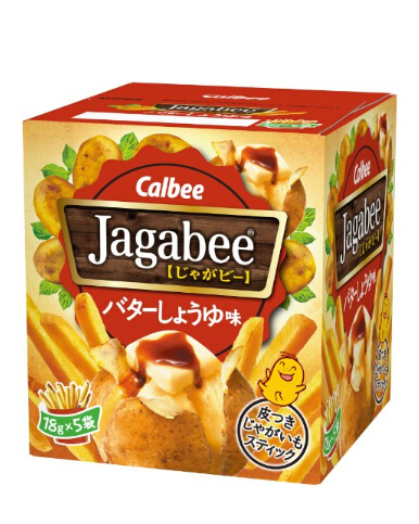 吃货囤起来!Calbee卡乐比Jagabee淡盐味薯条