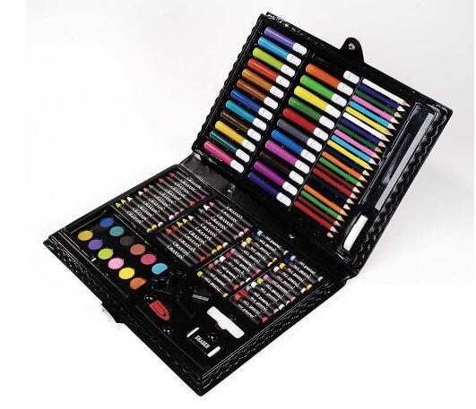 直邮无税!Darice 便携式美术绘画工具 120件豪华版
