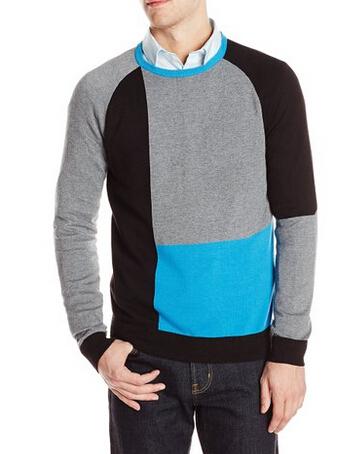 小码手快!直邮新低!Calvin Klein 男士莫代尔休闲针织衫