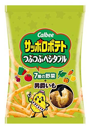 日亚好价!Calbee 卡乐比 札幌蔬菜口味薯条24g 24袋