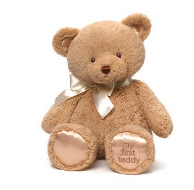 仅剩20个,直邮手快!My First Teddy 毛绒泰迪熊 46cm最大号