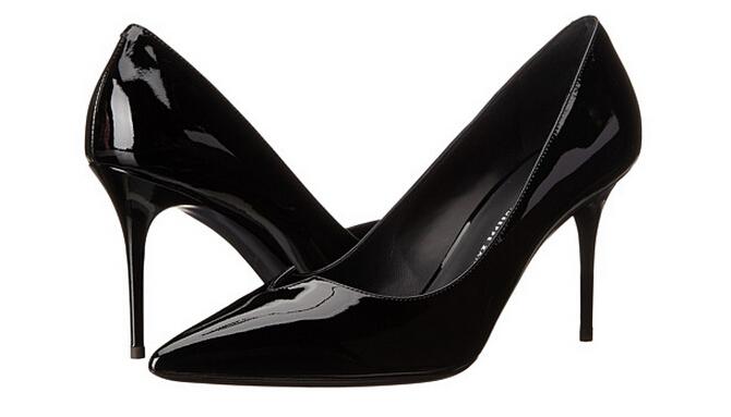 叠加9折码新低价!奢侈!Giuseppe Zanotti 朱塞佩萨诺第女士真皮高跟鞋