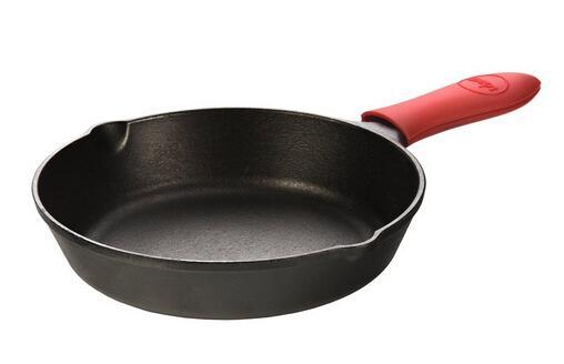 还是最低价!直邮无税!Lodge L5SK3 洛奇8寸平底铸铁煎锅+硅胶套