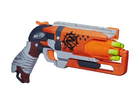 直邮无税!Hasbro Nerf Hammershot 孩之宝僵尸来袭系列玩具枪