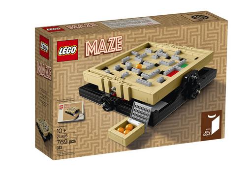 2016新货上市!LEGO 21305 乐高 Ideas系列之迷宫