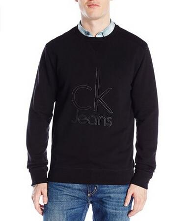 无税直邮!Calvin Klein Jeans 经典logo男士卫衣