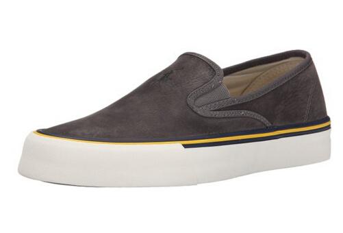 近期新低!Polo Ralph Lauren 拉夫劳伦小马标男士帆布板鞋