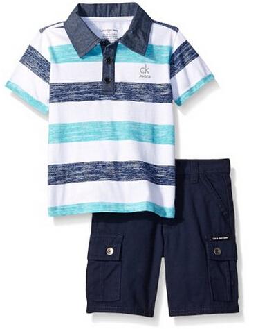 美亚好价!Calvin Klein 男童POLO衫+7分裤