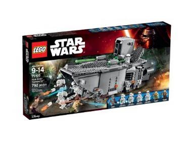 美亚好价!LEGO 乐高 星球大战系列 First Order运输车 75103
