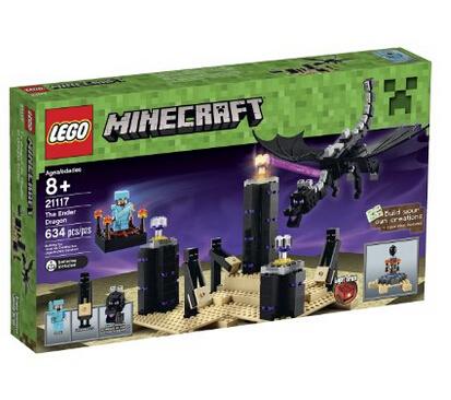 补货好价再来!LEGO 我的世界系列 21117 末影龙