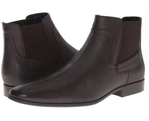 美亚好价!Calvin Klein 男士小牛皮短靴 2色